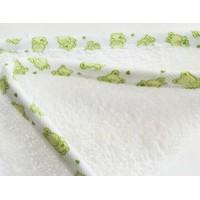 Vannilina kapuutsiga komplekt (pesemiskinnas ja rätikuga)