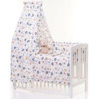 6-osaline vooditarvete komplekt lapsele, Retro Owl