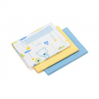 Baby cotton swaddlings set