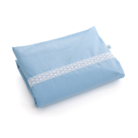 Baby duvet cover with lace