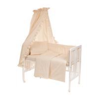 6-osaline vooditarvete komplekt lapsele, pitsiga