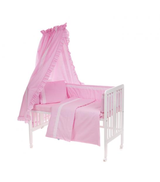 8b1923d1c30 6-osaline vooditarvete komplekt lapsele, pitsiga