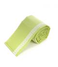 Voodipehmendus beebivoodile, pitsiga (roheline)